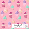 Cupcakes, candy pink